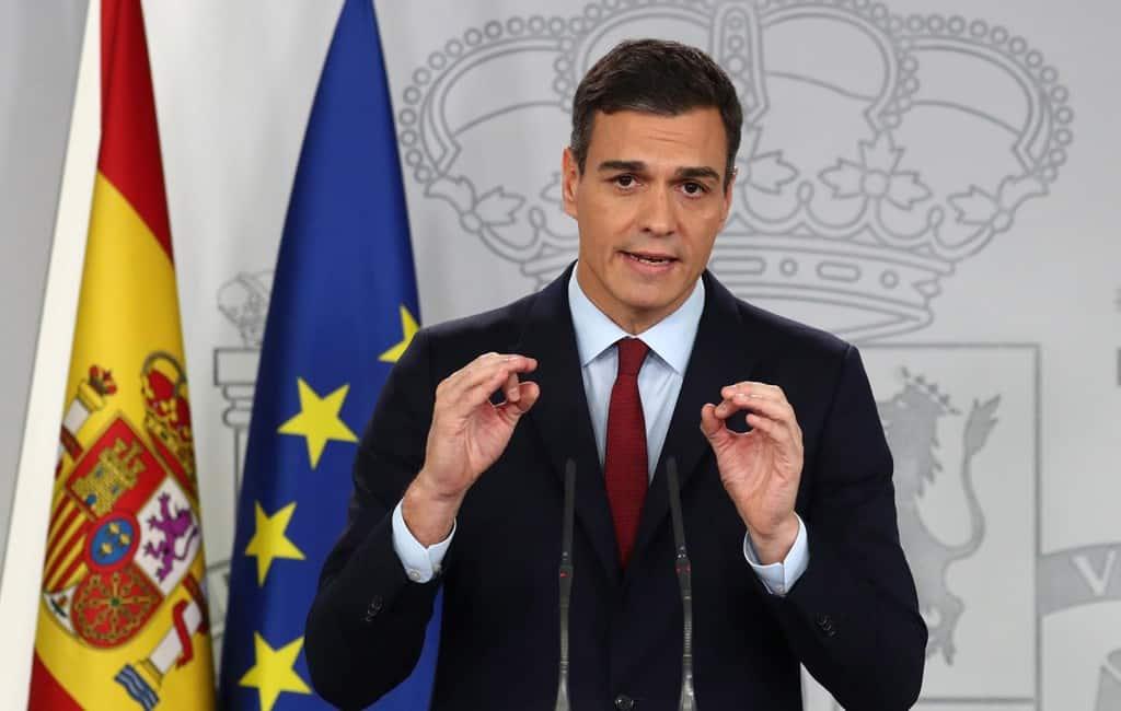 Premier Sánchez kondigt verkiezingen aan op 28 april in Spanje