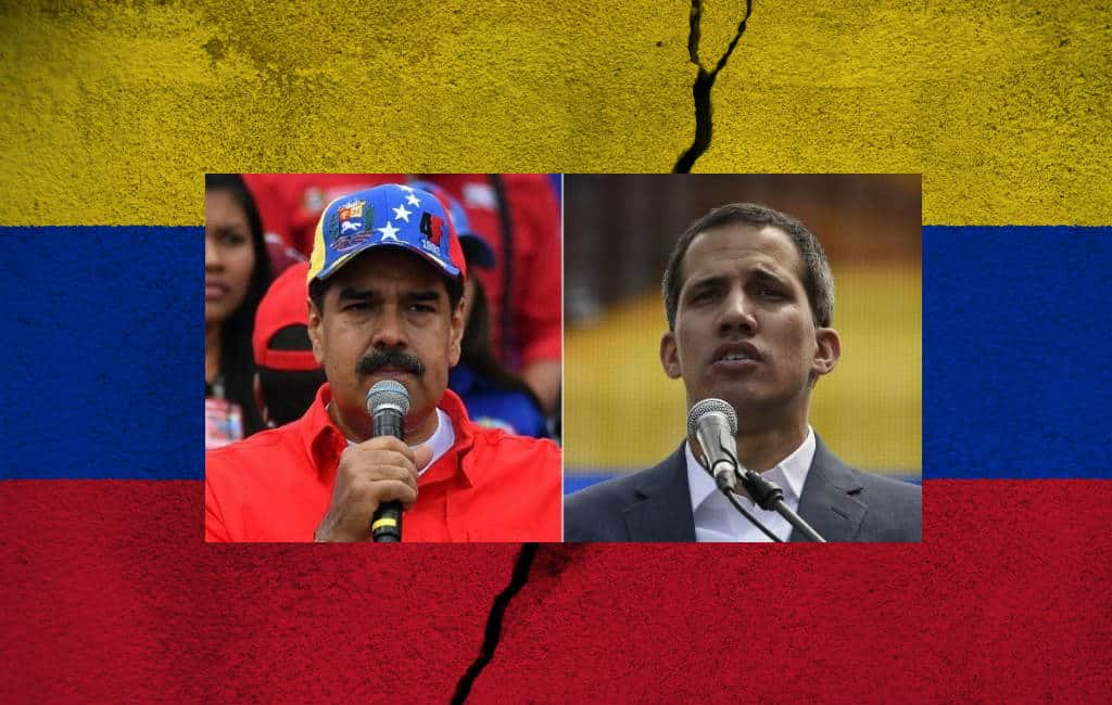 Spanje en andere EU-landen erkennen Guaidó in Venezuela