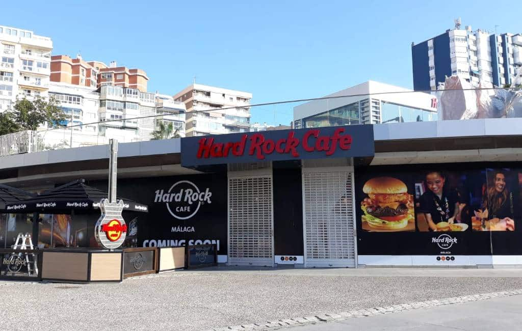 Hard Rock Café Málaga opent in maart haar deuren