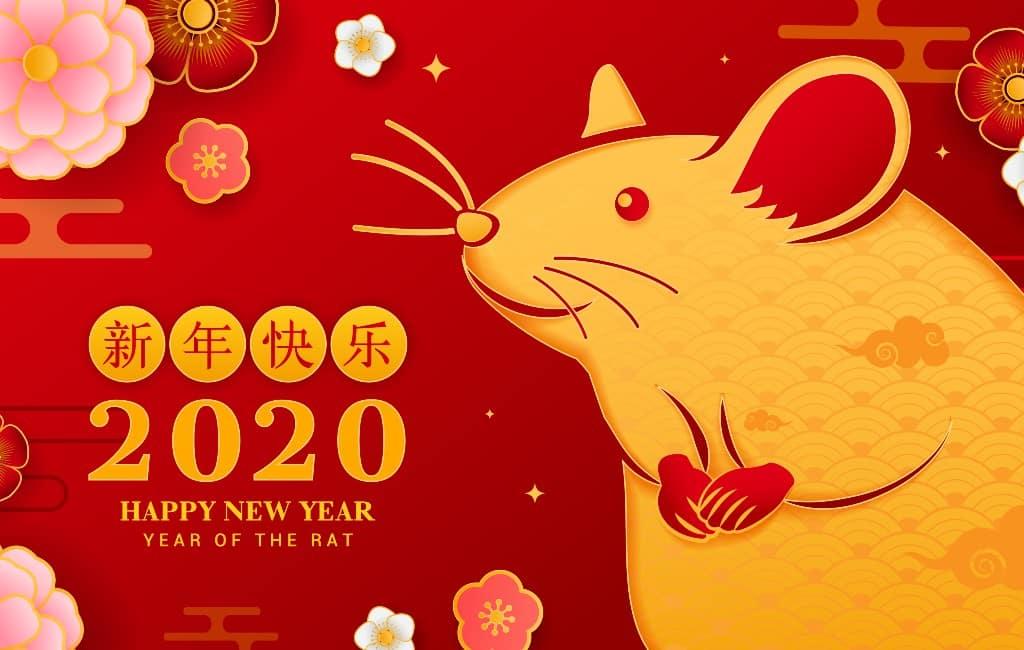 Het Chinese jaar van de rat wordt ook in Spanje gevierd