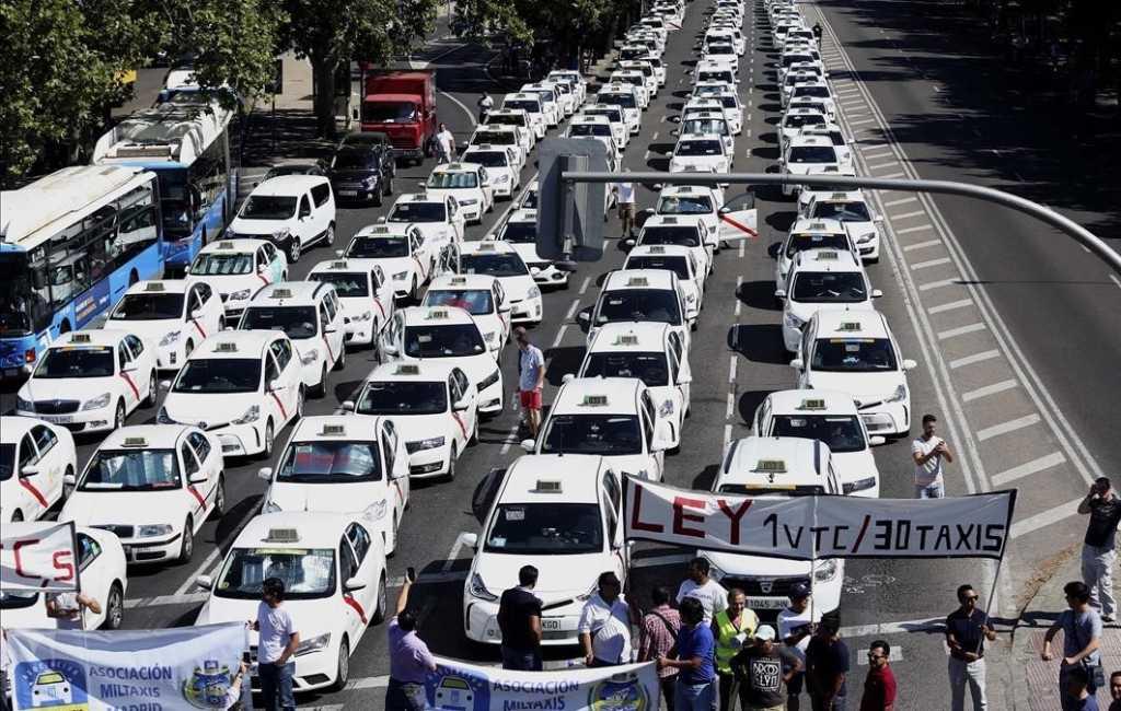Komt er een einde aan de staking van taxichauffeurs in Madrid?