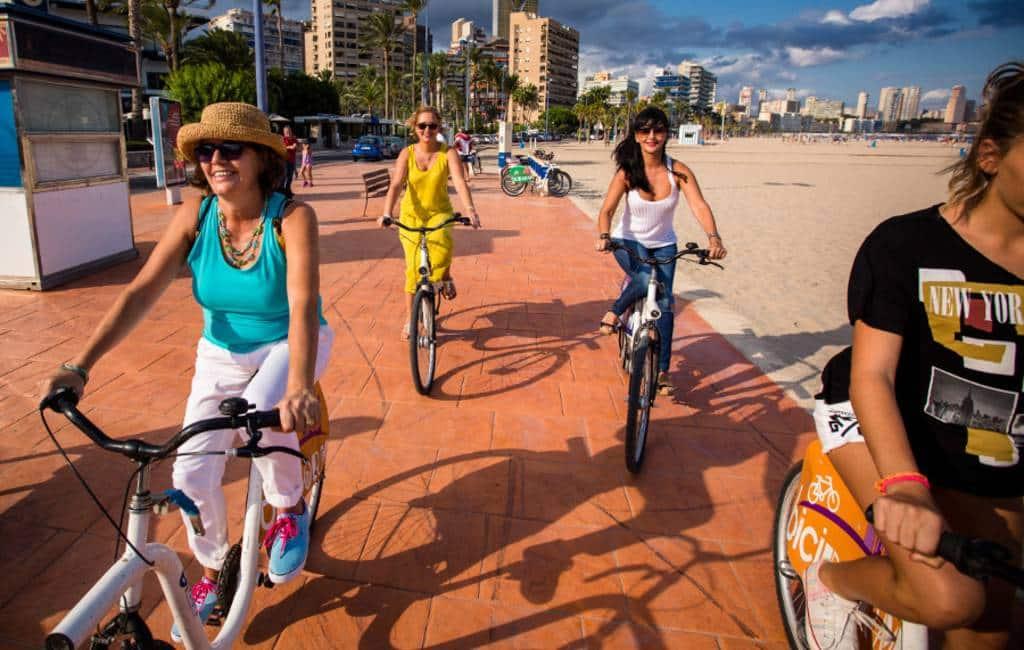 Is Benidorm een bikefriendly stad?