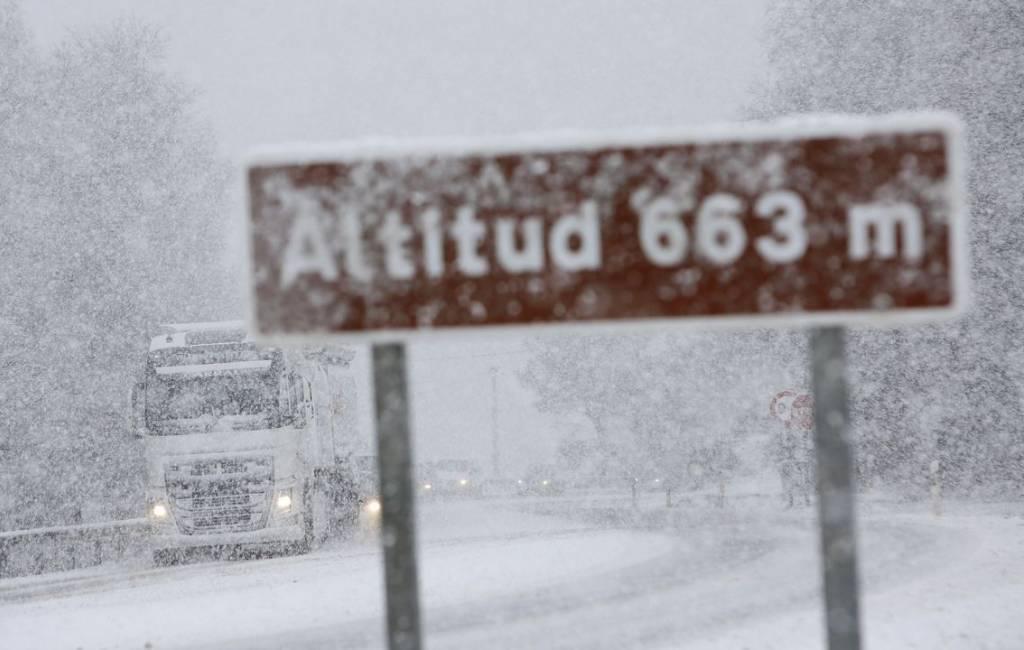 Veel sneeuw, regen en wind verwacht tijdens storm Helena in Spanje