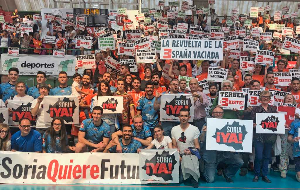 Het 'lege Spanje´gaat zondag in Madrid demonstreren