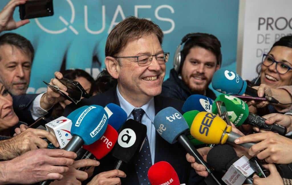 Vervroegde verkiezingen autonome regio Valencia