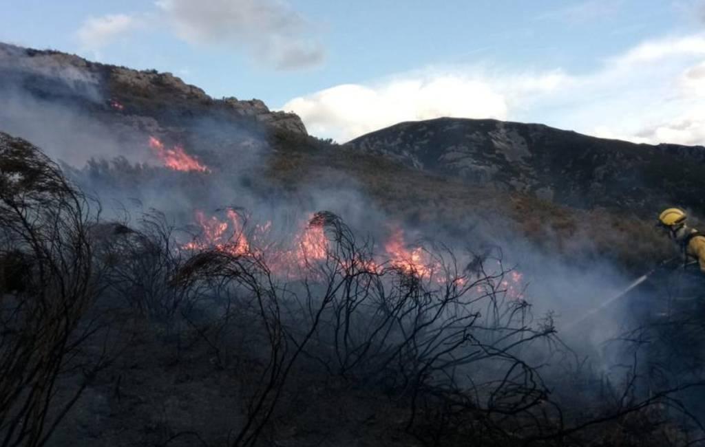 Meer dan 99 natuur- en bosbranden in Asturië (UPDATE)