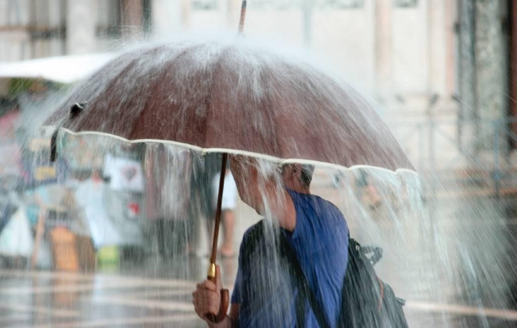 (Hevige) regenval op de Canarische Eilanden