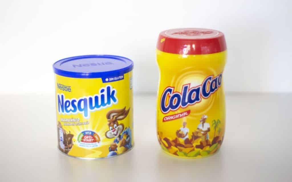 Cola Cao, Nesquik, Cacaolat of chocolate caliente in Spanje?