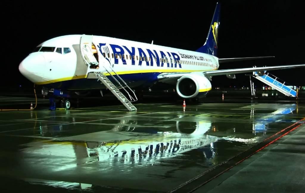 Ryanair vliegtuig moet noodlanding maken in Alicante