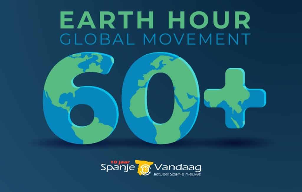 'Earth Hour' met 485 gemeenten in Spanje die dit jaar meedoen
