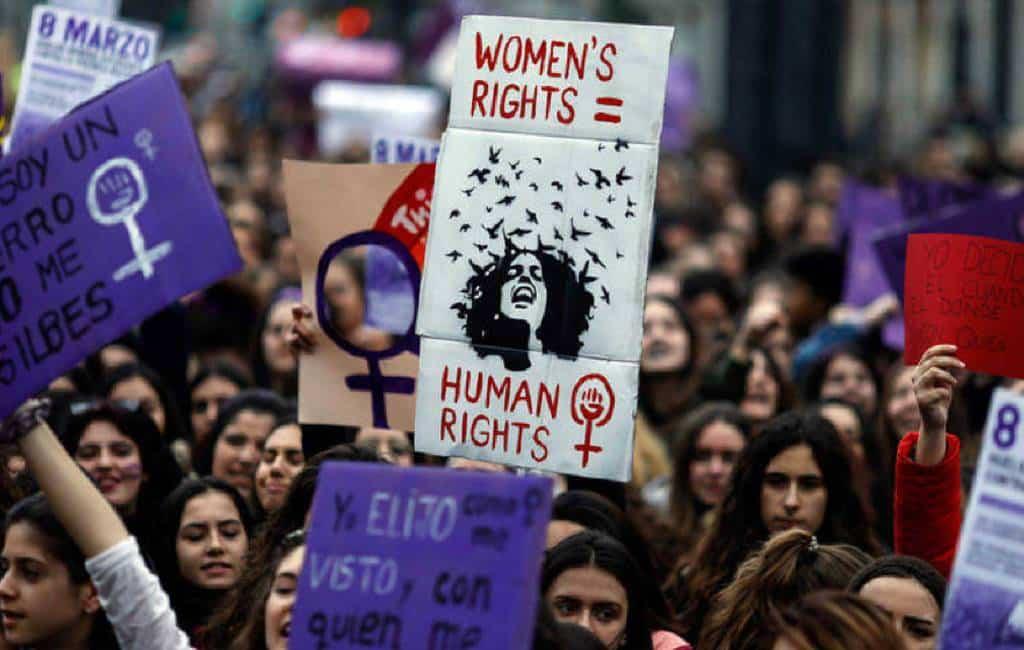 Internationale Vrouwendag met feministische staking in Spanje