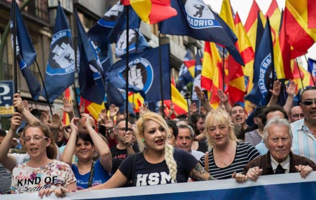 Neonazi groep Hogar Social schrijft zich in als politieke partij in Spanje