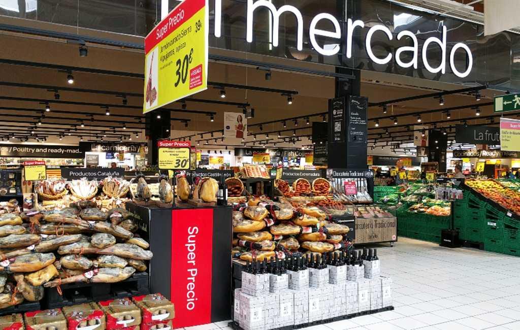 Boodschappen doen in een Spaanse supermarkt (video)