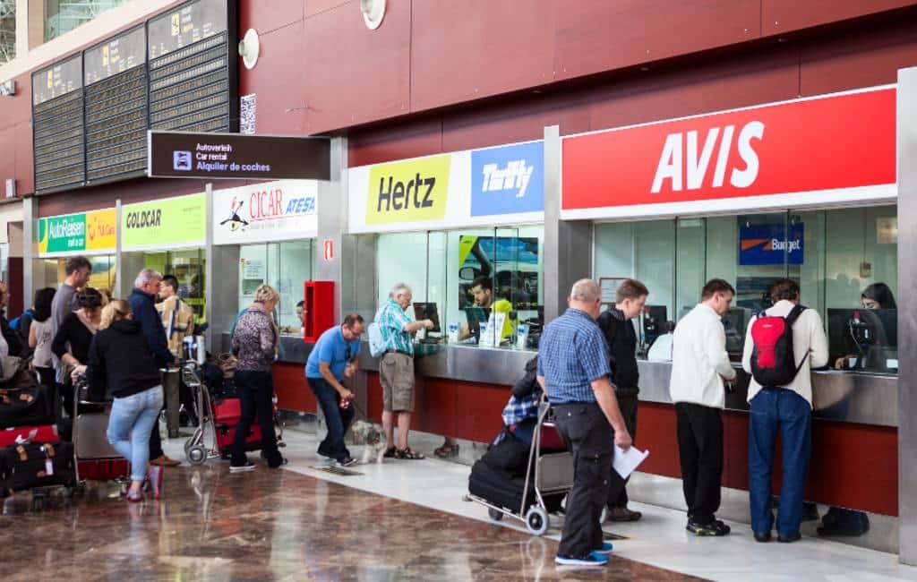 Hoge boetes voor autoverhuurmaatschappijen Mallorca