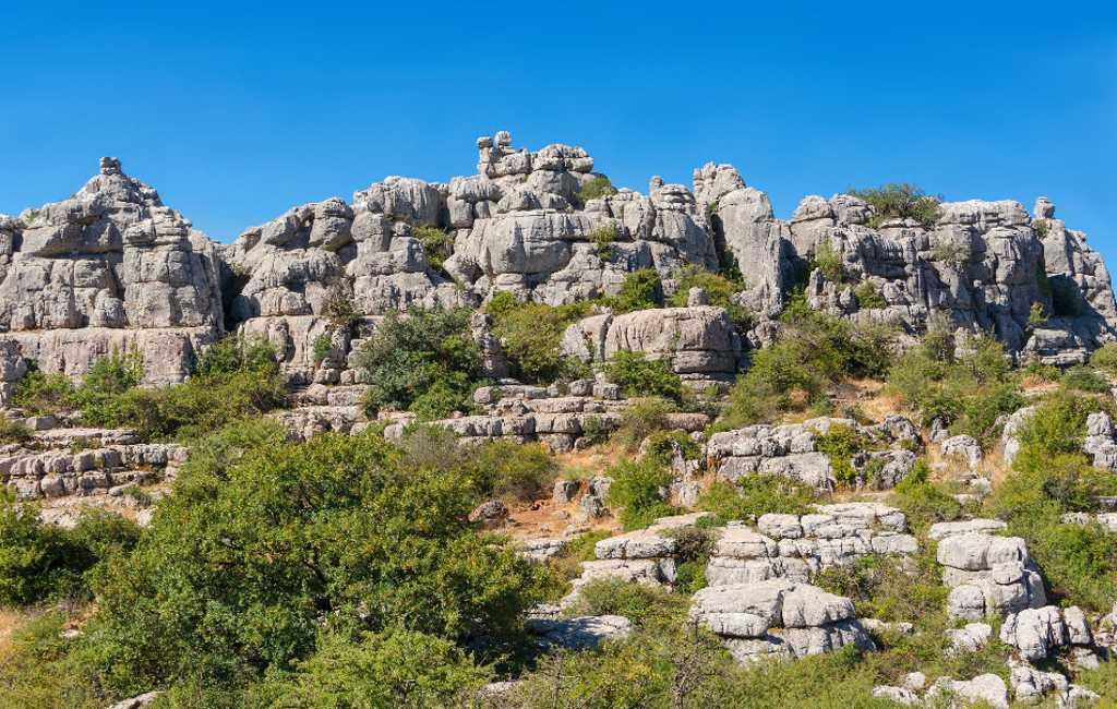 De 13 natuurmonumenten van de provincie Málaga