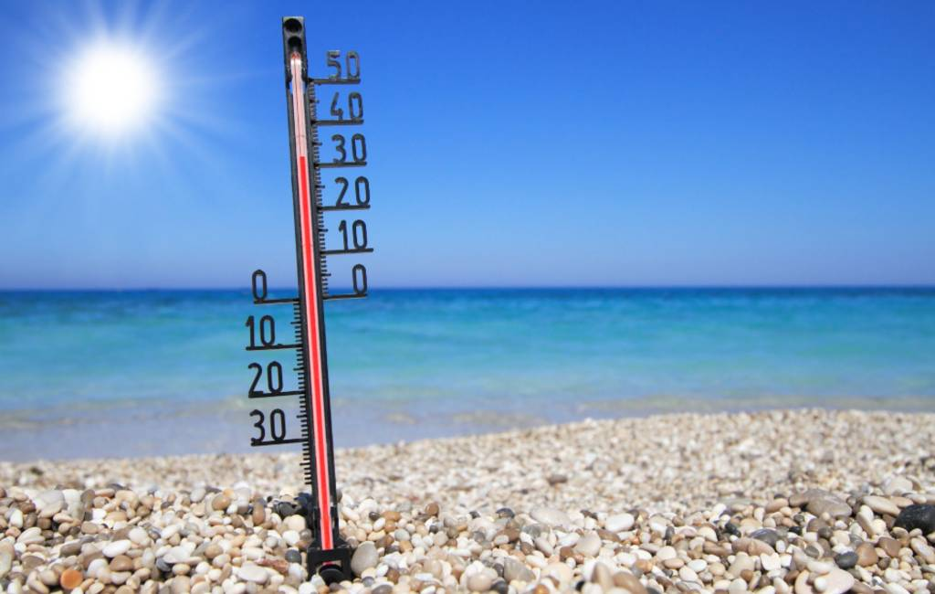 Hoogste temperatuur van Spanje gemeten in Valencia met 30,9 graden