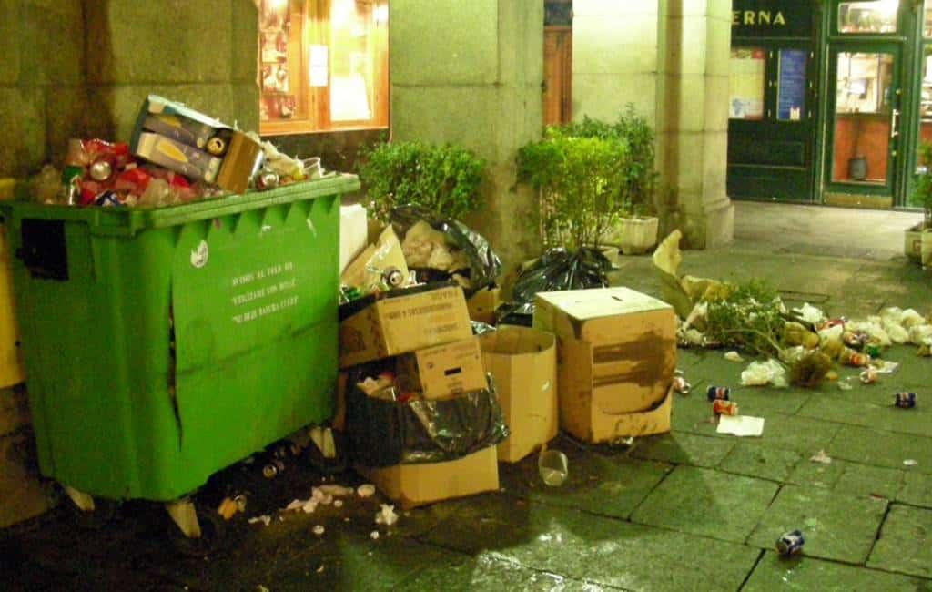 De schone en minder schone steden van Spanje