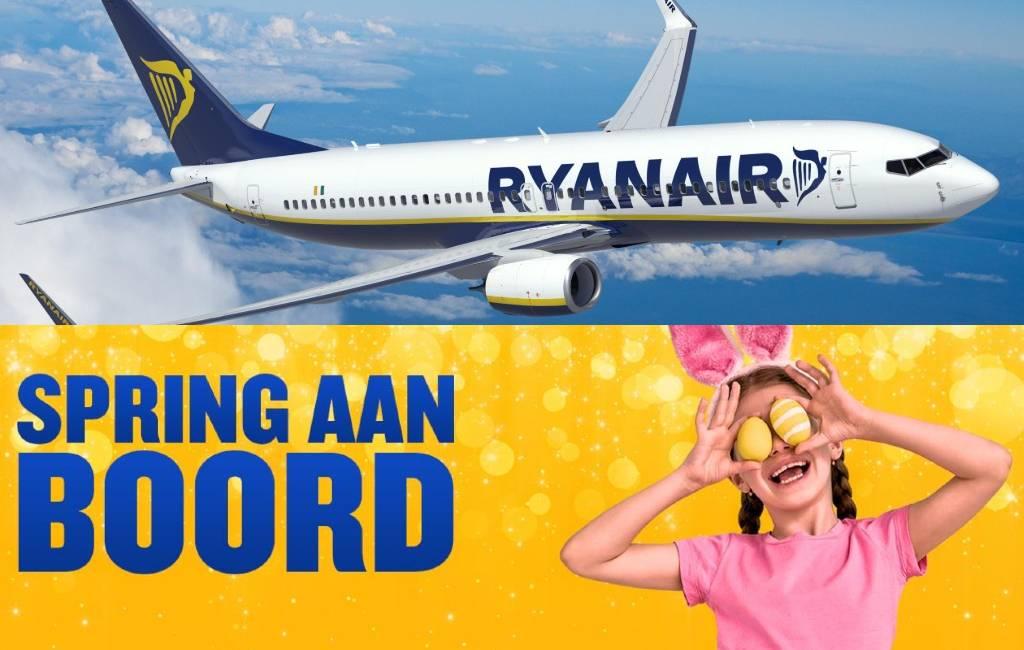 Ryanair uitverkoop vanaf 9,99 euro voor vliegen in mei