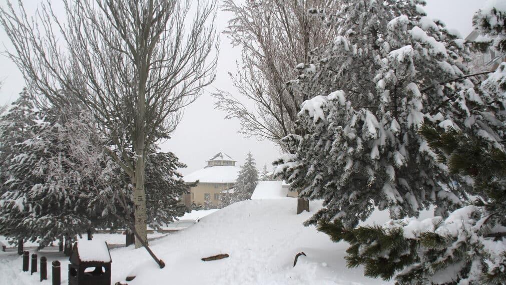 Sierra Nevada in Granada heeft in lente meer sneeuw dan hele winter