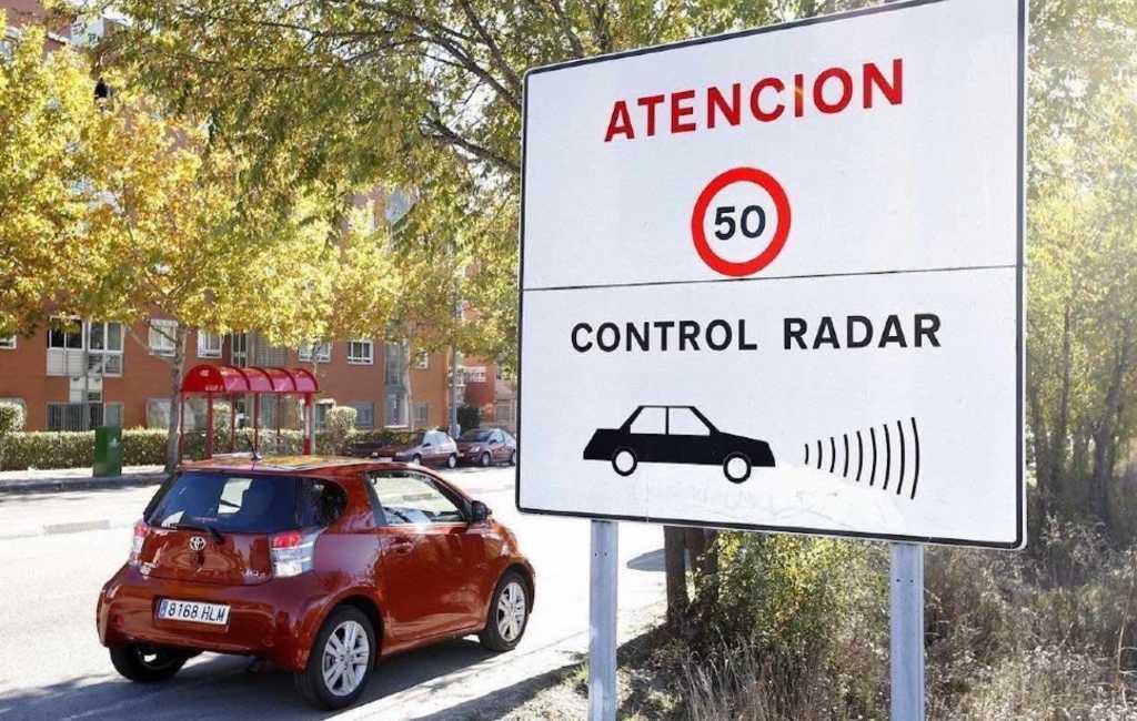 Bekeuringen bij te hard rijden in Spanje
