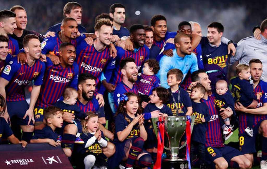 FC Barcelona wint voor 26e keer de La Liga landstitel