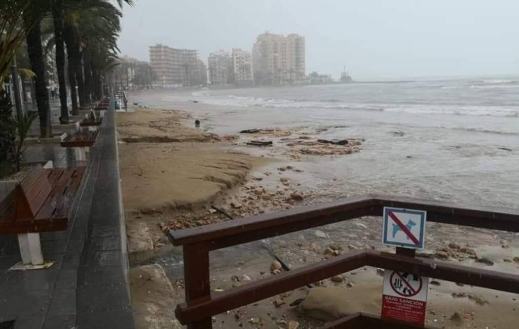 Slechtste weer van de afgelopen 50 aprilmaanden in Valencia en Murcia regio's