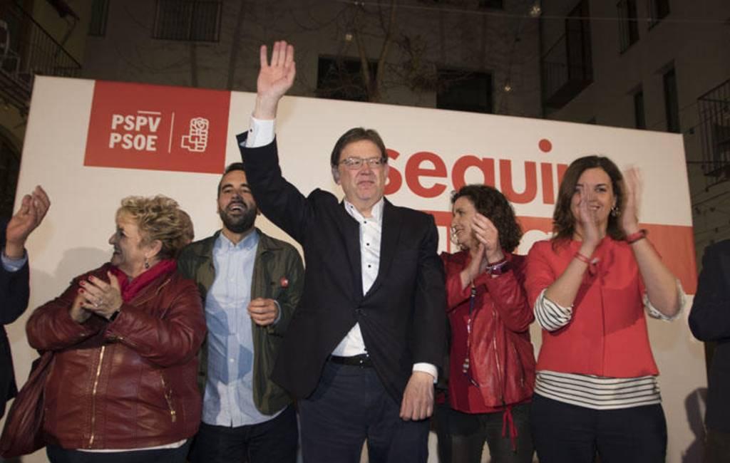 PSOE wint autonome verkiezingen in Valencia regio