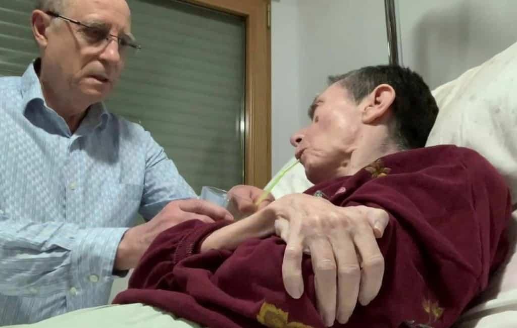 Nieuwe euthanasie discussie in Spanje nadat man zijn vrouw helpt te sterven