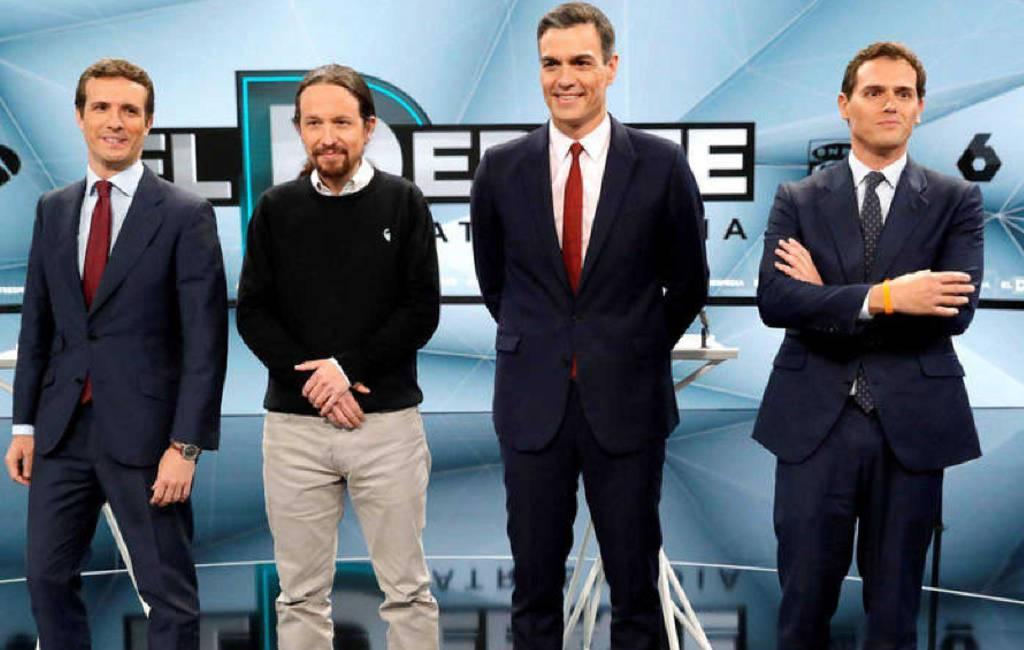 Tweede verkiezingsdebat Spanje eindigt zonder winnaar maar met veel leugens