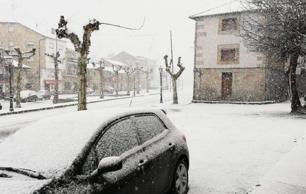 Opnieuw regen en sneeuw in Spanje