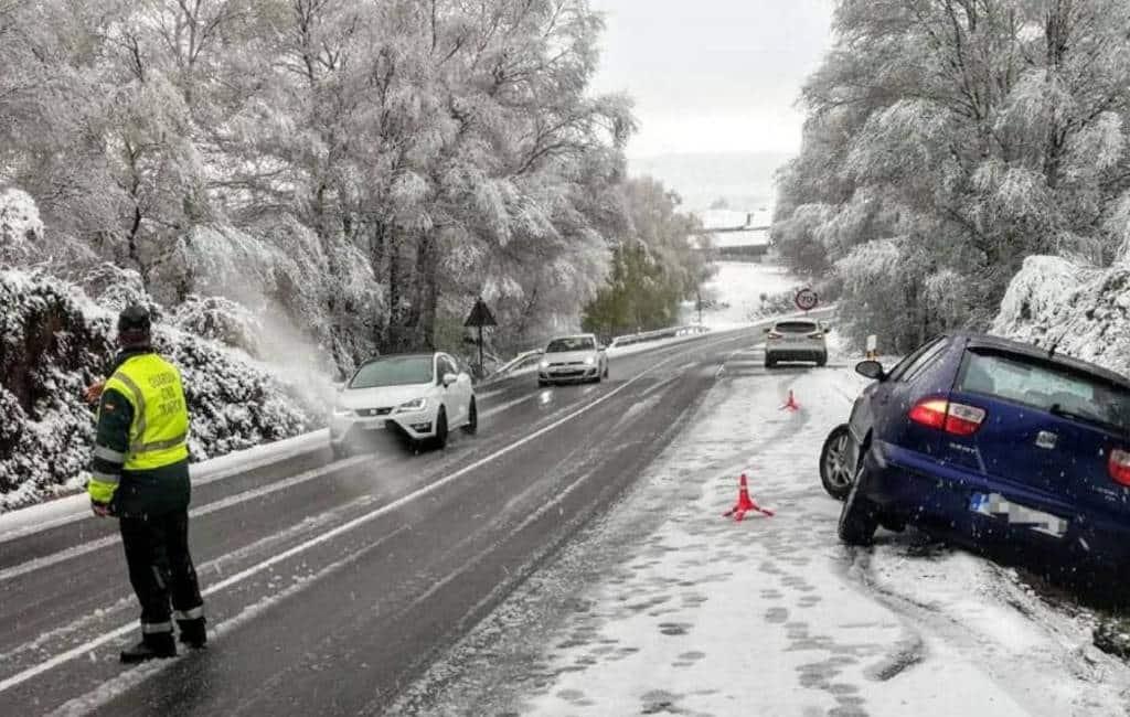 Weeralarmen in Spanje vanwege sneeuw, wind en regen