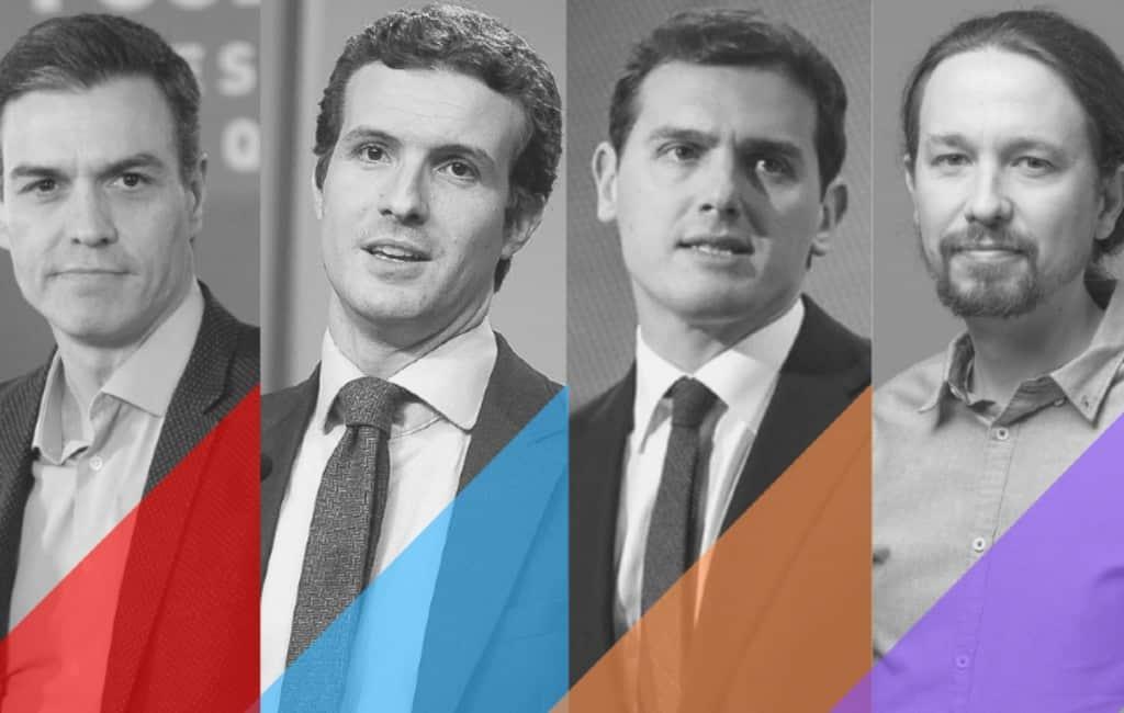 Geen vijfkoppig verkiezingsdebat op Spaanse televisie