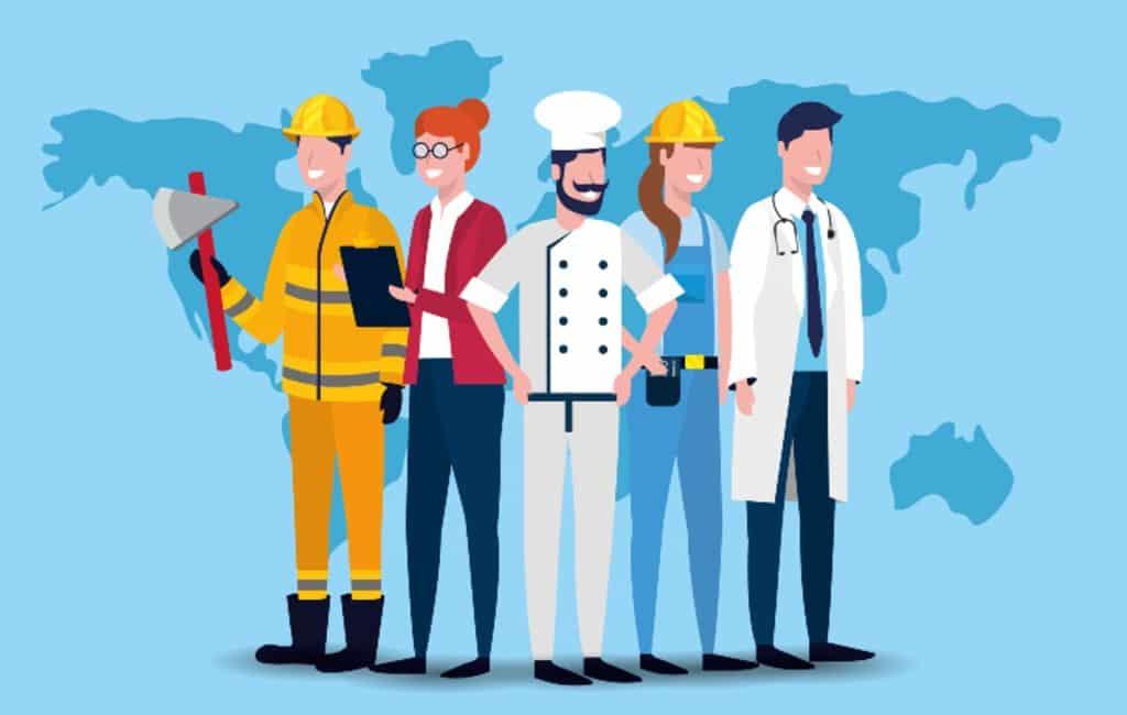 1 mei is de Dag van de Arbeid en vrije feestdag in Spanje