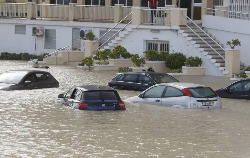 Valencia regio zwaar getroffen door noodweer