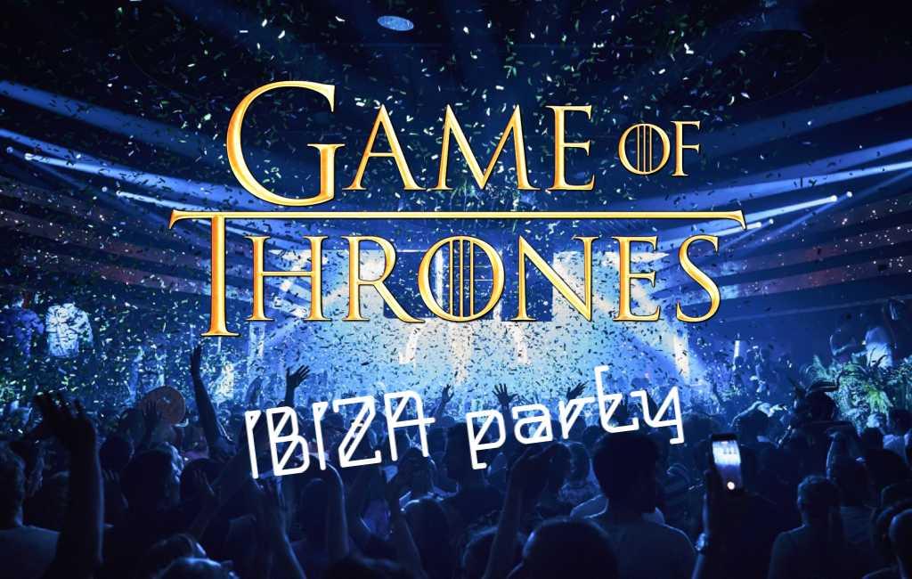 Game of Thrones acteurs en actrices gaan feestje bouwen op Ibiza