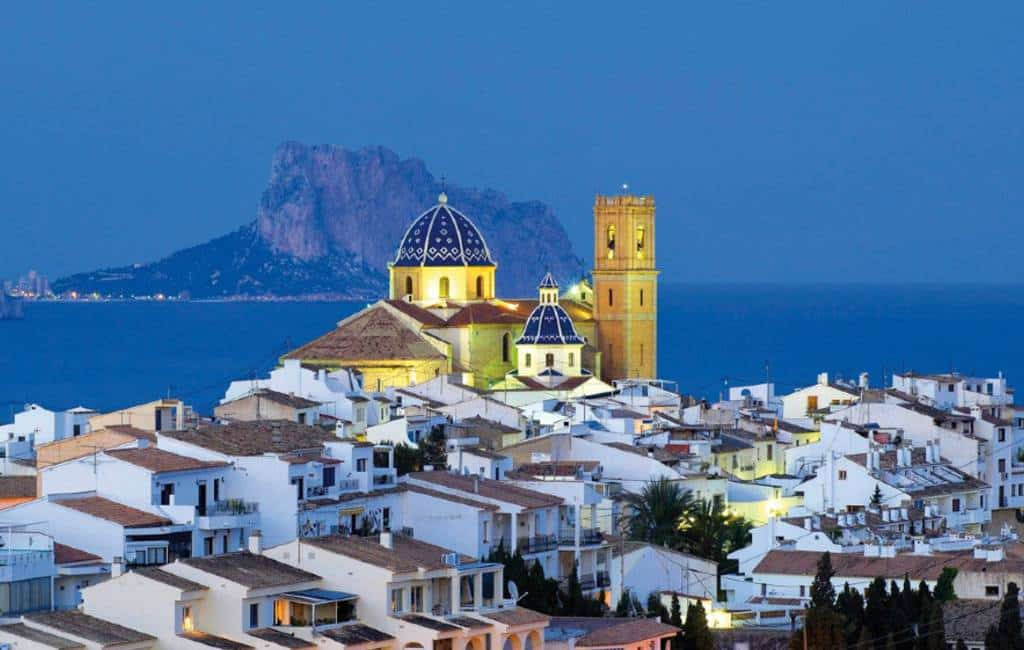 Altea is culturele hoofdstad 2019-2020 in de Valencia regio