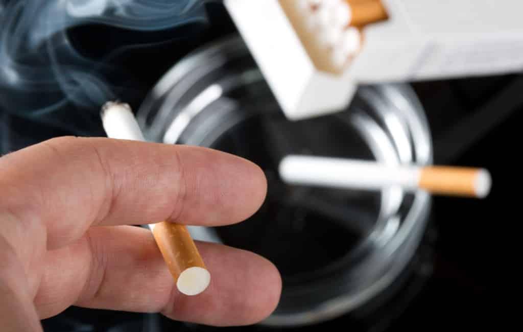 Aantal sigaretten rokers gestegen in Spanje