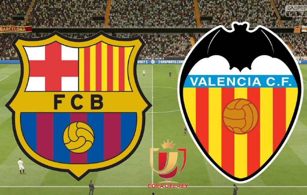 Copa del Rey finale: FC Barcelona - Valencia