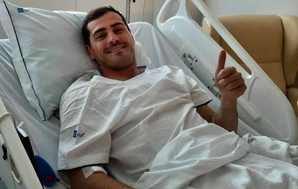 Voormalig doelman Spanje Iker Casillas heeft hartaanval
