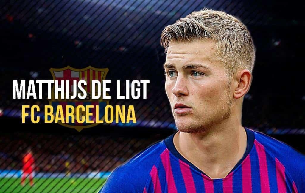 Ajax speler de Ligt wellicht naar FC Barcelona (UPDATE)