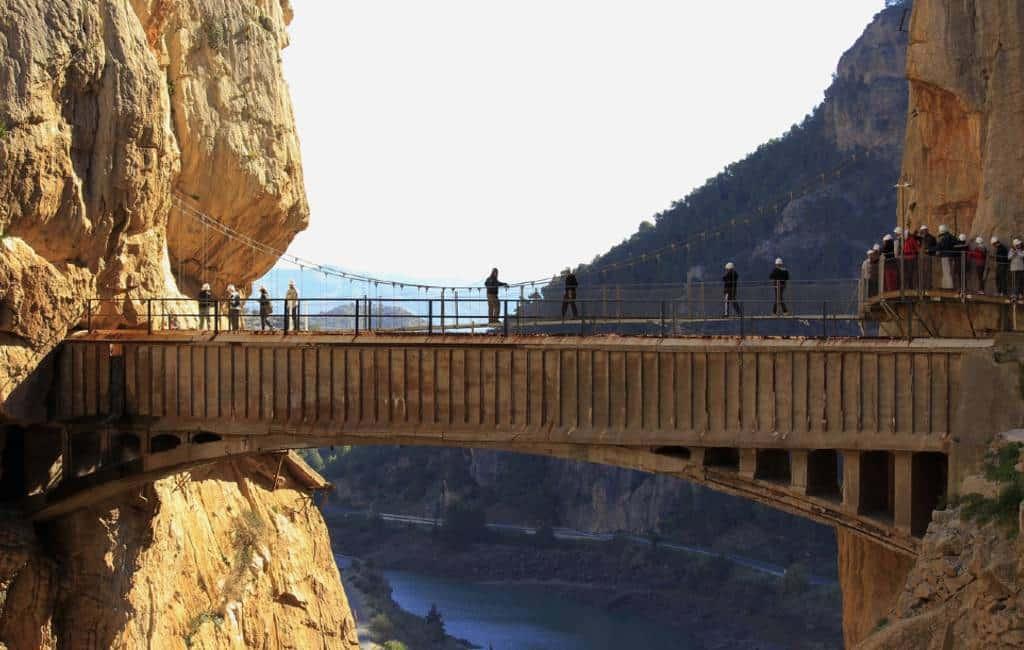 Caminito del Rey wil Unesco Werelderfgoed worden