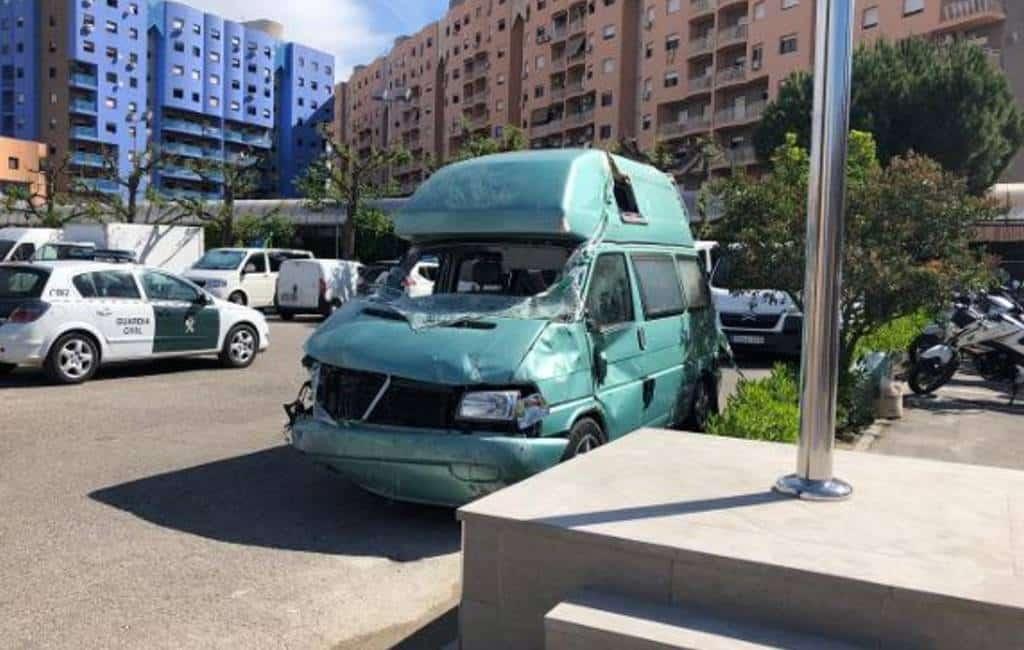 Meer dan één miljoen euro in camper gevonden in Granada