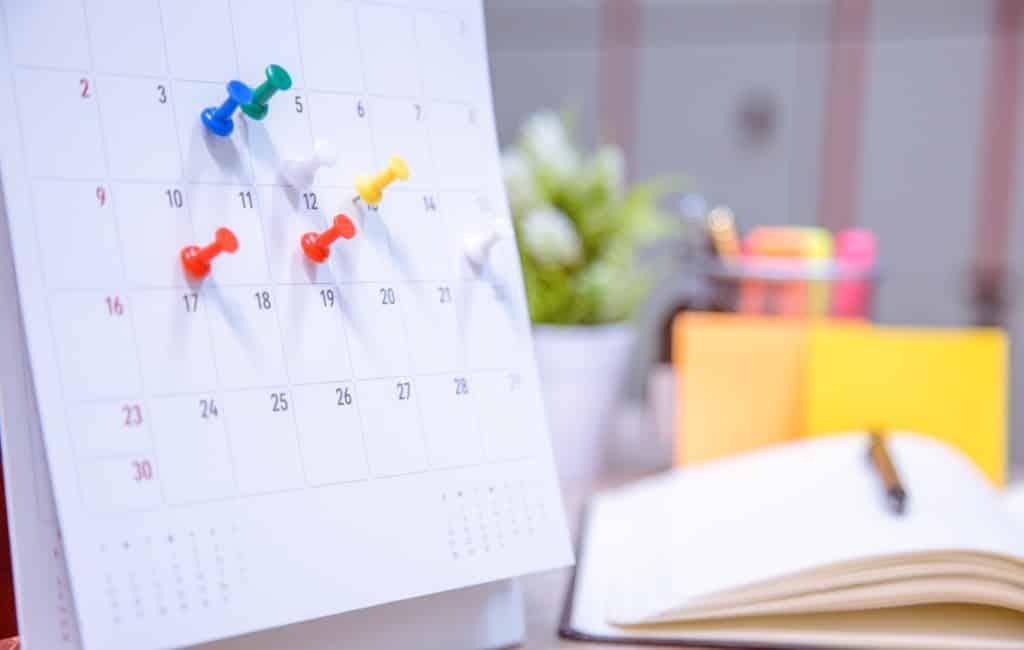 Arbeidskalender 2020 Andalusië bekend gemaakt