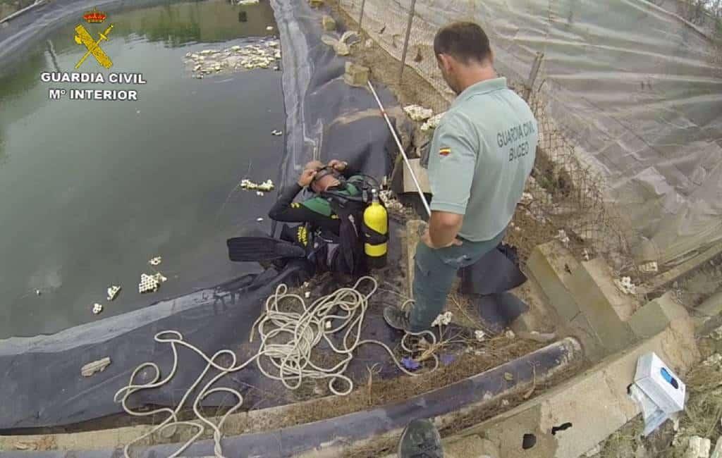Man tijdens reddingspoging honden in Alfaz del Pi verdronken
