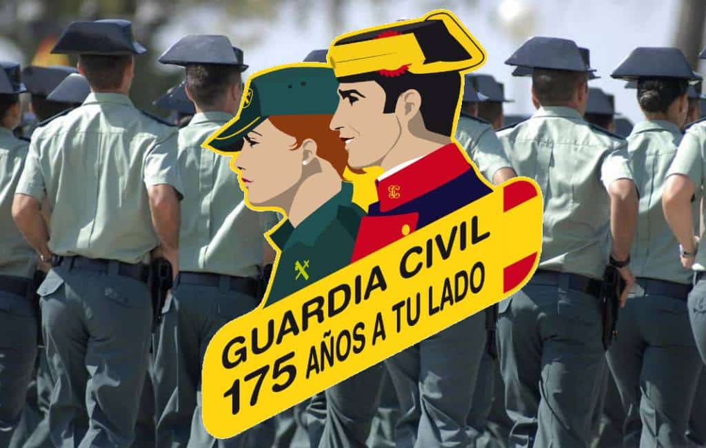 Guardia Civil Spanje bestaat 175 jaar