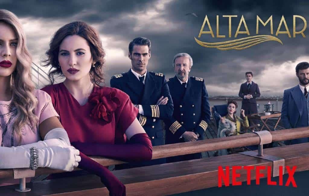 Nieuwe Spaanse Netflix thrillerserie 'Alta Mar'