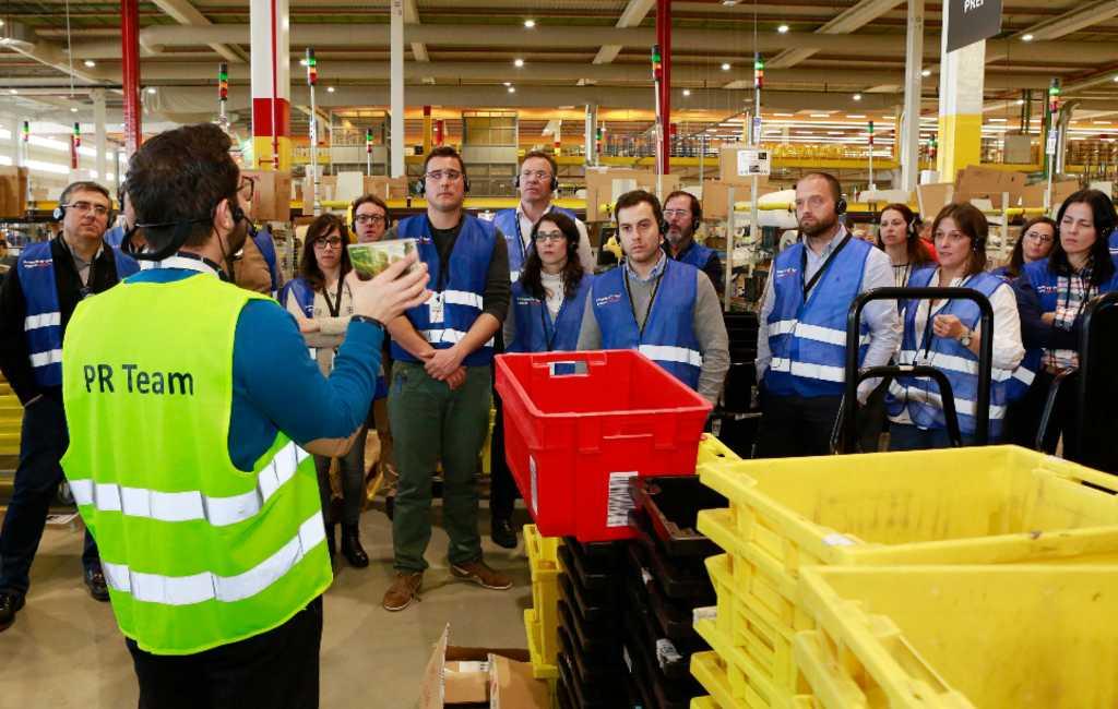 Het is nu mogelijk om de Amazon distributiecentra in Spanje te bezoeken
