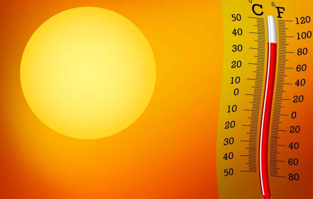 Zomer begint wat betreft temperaturen nu echt in Spanje