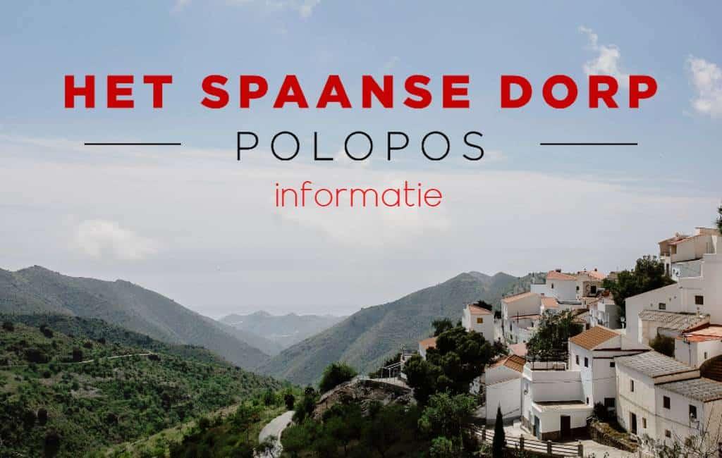 'Het Spaanse Dorp: Polopos' aan de Costa Tropical