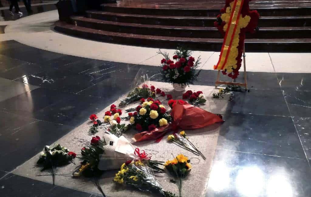 Rechters stoppen opgraving en verplaatsing lichaam Franco in Spanje